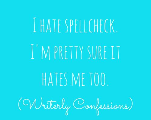 SpellcheckConfession