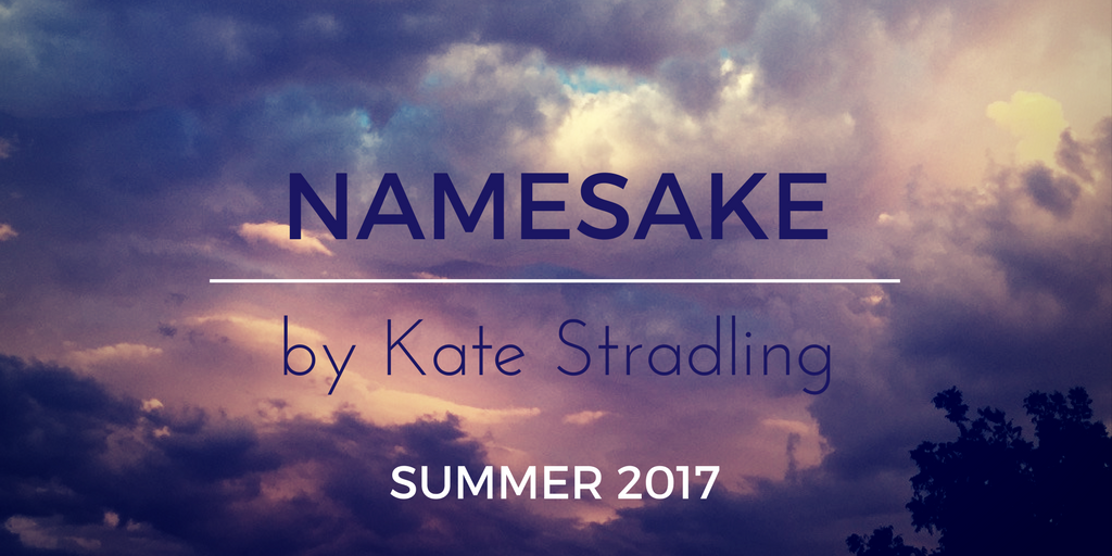 2017 project title plate: Namesake