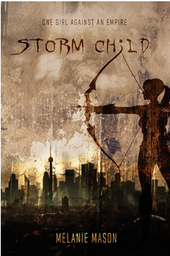 Twelfth day giveaway: Storm Child by Melanie Mason