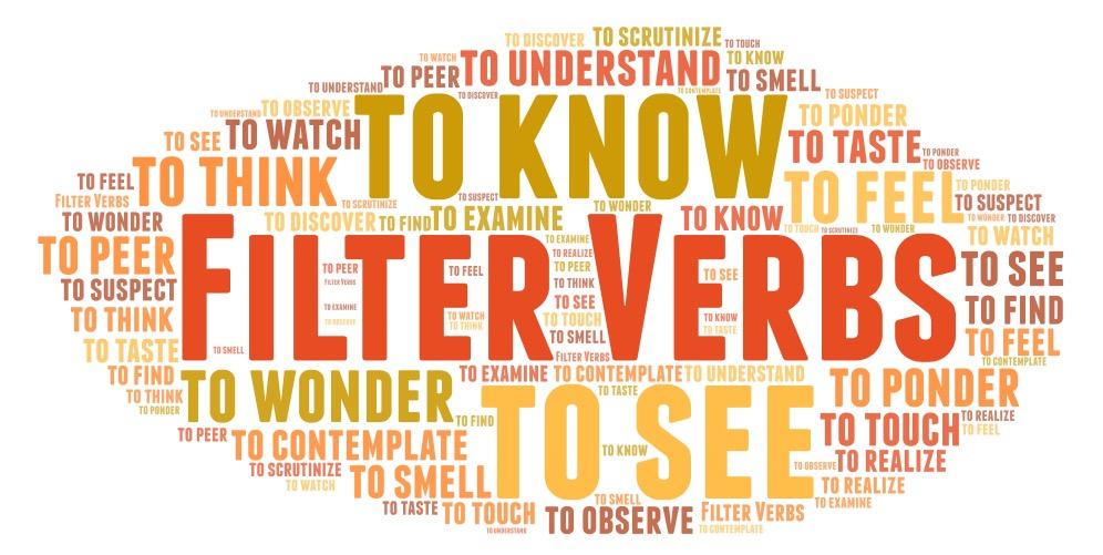 Filter Verbs word art