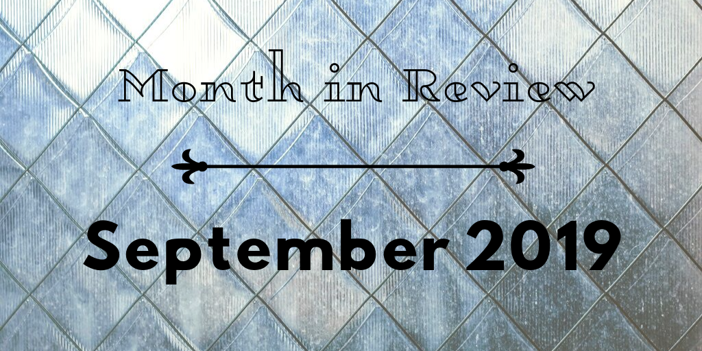 Title plate: Month in Review, September 2019