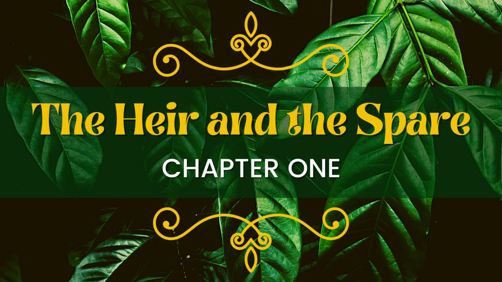 Title plate: The Heir and the Spare, Chapter One